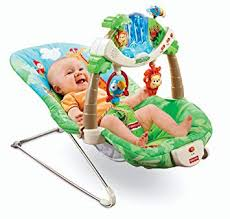 Amazon.com : Fisher-Price Rainforest Bouncer : Infant Bouncers And ...