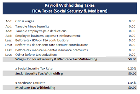 Estimate Payroll Taxes Calculator Tx302 Payroll Withholding Tax Essentials