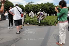 u s department of defense photo essay  korean war veterans memorial