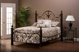 image of wrought iron bed frame color bedroom endearing rod iron