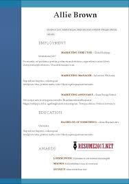Free Online Resume Builder Printable Impressive Resume For Students Builder