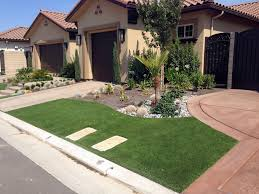 artificial turf yard. Plastic Grass Grayson, California Garden Ideas, Small Front Yard Landscaping Artificial Turf
