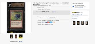 Magic The Gatherings Black Lotus Sells For 166 100 At
