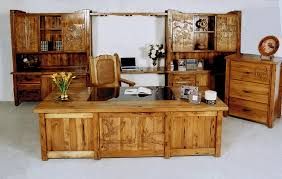 rustic executive desk set thediapercake home trend
