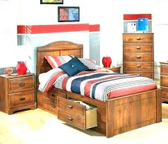 Boy Twin Bed Frame Twin Bed For Boys Size Toddler With Storage Kid ...