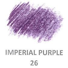Derwent Procolour Lightfast Chart Derwent Procolour Pencils Range Of 72 Coloured Pencils 26 Imperial Purple Lf 3 4