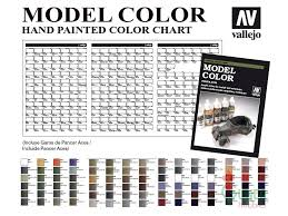 Model Master Enamel Paint Chart Pdf 66 Meticulous Vallejo Game Color Conversion Chart
