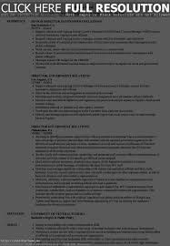 Federal Government Resume Examples Resume Template
