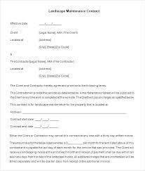 landscape proposal template word lawn maintenance proposal template sample landscaping management