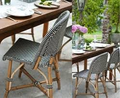 wicker bistro chairs. Delighful Bistro Design Sleuth Classic French Rattan Bistro Chairs  Remodelista Intended Wicker W