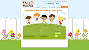noah s ark daycareclix view other daycare website design templates