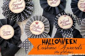 Halloween Costume Awards Halloween Costume Awards With Free Printables 1024x682 The Cards