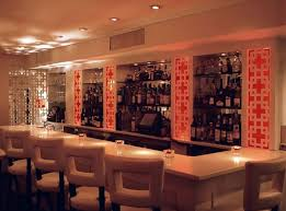 Sleek White Restaurant Bar Furniture Design David Burke Townhouse