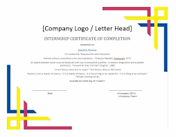 Certificate Of Completion Of Training Template Free Certificate Of