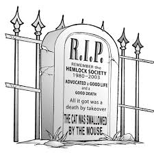 farewell to hemlock killed by it s assisted suicide hemlock society tombstone jpg