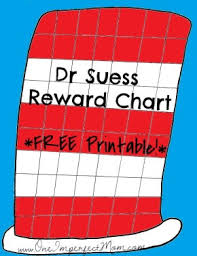 Dr Seuss Chart Dr Seuss Reward Chart Free Printable One Imperfect Mom