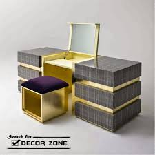 modern dressing table with mirror designs. Beautiful Mirror Modern Dressing Table With Mirror In Gray And Golden Combination To Modern Dressing Table With Mirror Designs L