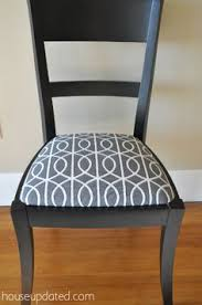 recovering dining chairs dwell studio bella porte charcoal fabric