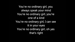 You re no ordinary girl