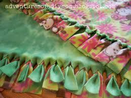 Handmade Tied Fleece Blankets by Jessica's Hope Chest   CustomMade.com & Custom Made Tied Fleece Blankets Adamdwight.com