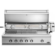 dcs heritage 48 inch built in natural gas grill with infrared burner kit griddle bh1 48rgi n bbq guys