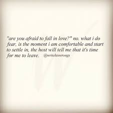Scared To Fall In Love Quotes Beauteous Quotes About Love Are You Afraid To Fall In Love Hall Of