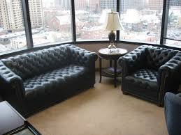 Office couch and chairs Red Blue Leather Button Couch Chair 2 Couches And Chairs Available Amazoncom Advanced Office Systems Inc Denver Used Office Furniture
