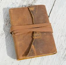 custom made handmade leather bound outlaw mexico bandit journal travel vintage map diary poetry art notebook