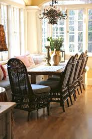 fancy ideas indoor wicker dining chairs 6 dining room