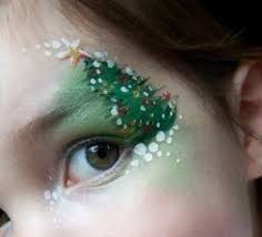 <b>Daisy Designs</b> christmas tree face paint | Боди-арт | Боди арт ...