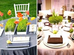 round table centerpiece ideas simple wedding centerpieces for