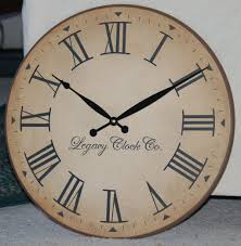 interior kirkland wall clock brilliant kirklands shiplap black white decor farmhouse style big intended for
