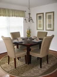 rug under round kitchen table modern on floor pertaining to home design ideas 0