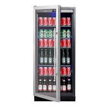 Undercounter Beverage Refrigerator Glass Door Built In Under Counter Beverage Refrigerator Under Bench Beer