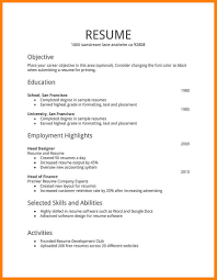 Plain Text Resume Builder Freeplate Version Of Sample Pros And Cons