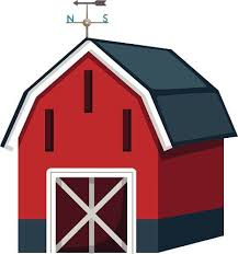 red barn doors clip art. ideal barn clipart silhouette of a red door clip art vector images doors