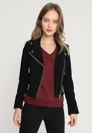 vero moda petite vmroyce short leather jacket black pg63827