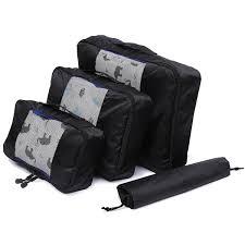 <b>QIUYIN</b> Nylon Packing Cube Travel <b>Bag</b> Unisex Clothing Sorting ...