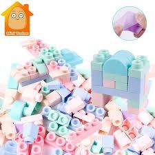 soft building blocks kids diy model construction toy for children boys girls gift educational brain game ofd1