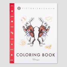 target coloring books. Plain Coloring Victoria Beckham For Target Coloring Book  Limited Edition For Books E