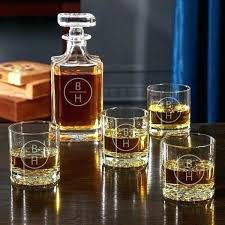 engraved whiskey decanter set engraved whiskey decanter set college town personalized engraved
