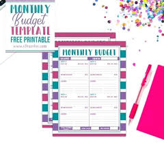 Budget Planners Free Easy And Free Budget Planners To Help You Budget Better High
