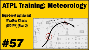 Atpl Training Meteorology 57 High Level Significant Weather Charts Sig Wx Part 2
