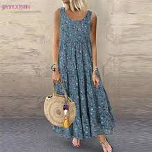 Buy <b>loose</b> summer dress for <b>pregnant women and</b> get free shipping ...