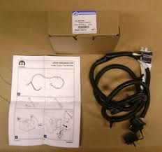 jeep wrangler trailer tow wiring harness oem mopar 82210213 jk 4 way hitch wiring harness for 2007 equinox 2007 2018 jeep wrangler jk 4 way trailer tow hitch wiring harness