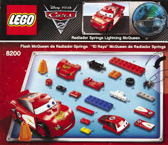 lego cars cars radiator springs lightning mcqueen pcs  roll over image to magnify