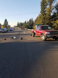 oregon state police was isted by clacs county so sandy fire department oregon department of transportation and all ways towing co