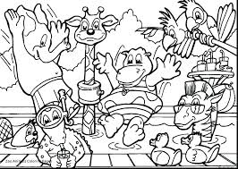 Safari Coloring Page Chronicles Network