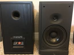 infinity entra sub. infinity reference 2000.2 bookshelf speakers and center channel entra sub i