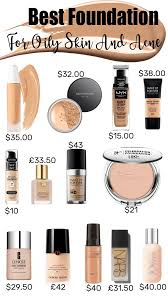 best foundation for oily skin large